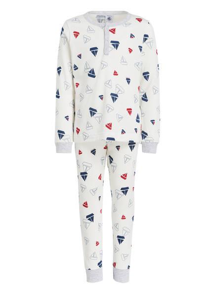 PETIT BATEAU Schlafanzug, Farbe: WEISS (Bild 1)