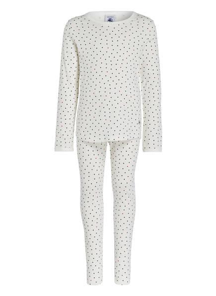 PETIT BATEAU Schlafanzug, Farbe: ECRU (Bild 1)