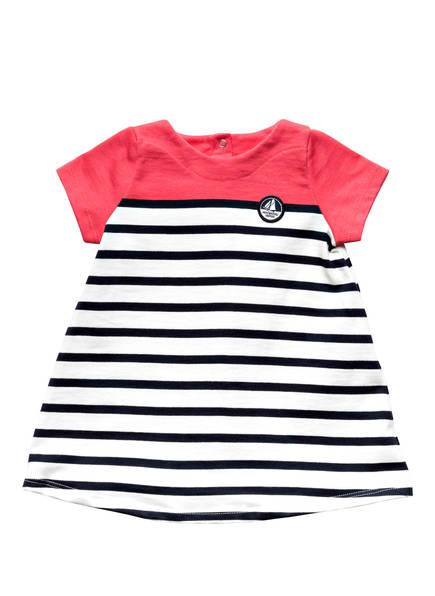 PETIT BATEAU Kleid, Farbe: HELLROT/ DUNKELBLAU/ WEISS (Bild 1)