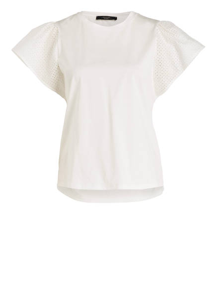 Weekend T shirt Maxmara Weiss Cerchio qTwCYvq