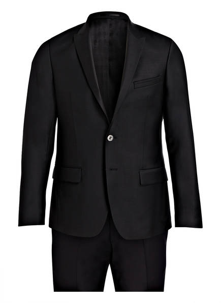 Karl Lagerfeld Anzug VIBRANT Slim Fit, Farbe: SCHWARZ (Bild 1)