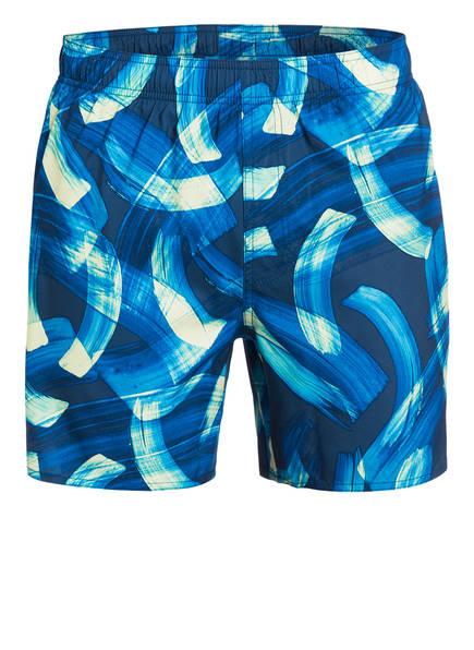 adidas Badeshorts PARLEY, Farbe: BLAU/ HELLGELB (Bild 1)
