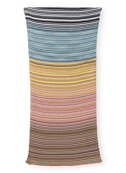 MISSONI Schal, Farbe: SCHWARZ/ GELB/ BEIGE (Bild 1)