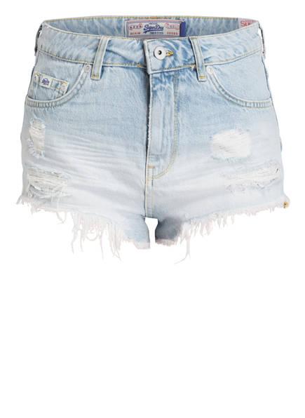 Superdry Jeans-Shorts ELIZA, Farbe: HELLBLAU (Bild 1)