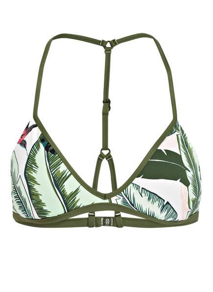 SEAFOLLY Triangel-Bikini-Top PALM BEACH , Farbe: OLIV (Bild 1)