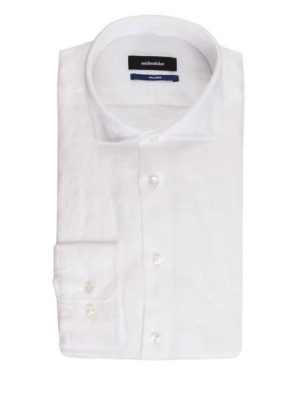 seidensticker Leinenhemd Tailored Fit, Farbe: WEISS (Bild 1)