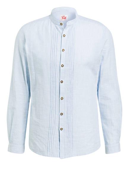 Spieth & Wensky Trachtenhemd, Farbe: HELLBLAU/ WEISS GESTREIFT (Bild 1)