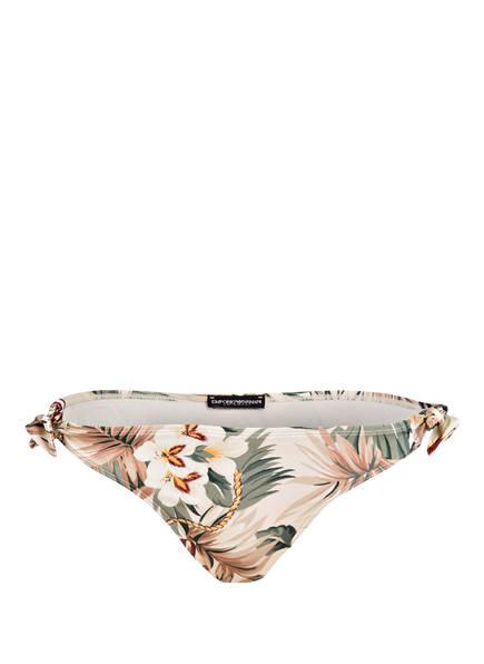 EMPORIO ARMANI Bikini-Hose TREASURE ISLAND , Farbe: BEIGE/ OLIV (Bild 1)