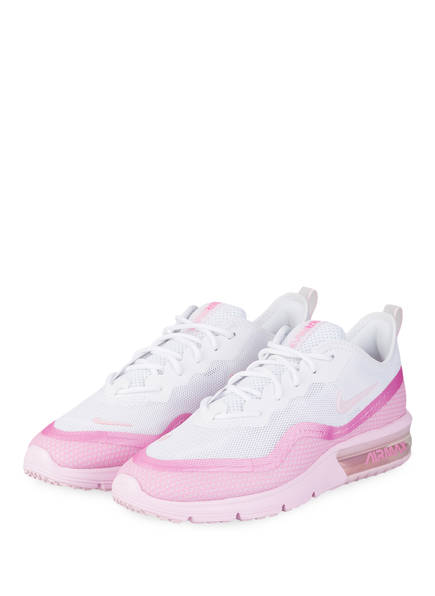 Nike Sneaker AIR MAX SEQUENT 4.5 SE, Farbe: WEISS/ PINK (Bild 1)