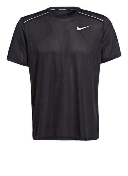 Nike Laufshirt COOL MILER, Farbe: SCHWARZ (Bild 1)