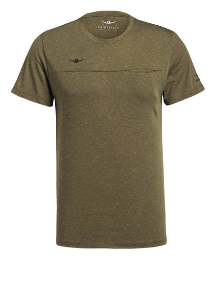 KAIKKIALLA T-Shirt VELI, Farbe: KHAKI MELIERT (Bild 1)
