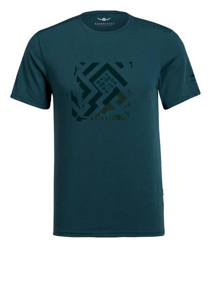 KAIKKIALLA T-Shirt VEINI, Farbe: PETROL (Bild 1)