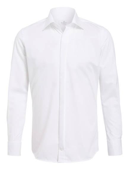 WILVORST Smoking-Hemd Body Fit, Farbe: WEISS (Bild 1)