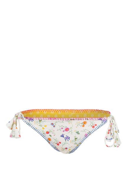 BANANA MOON COUTURE Bikini-Hose TAKA PALERMO zum Wenden, Farbe: ECRU/ GRÜN/ PINK (Bild 1)