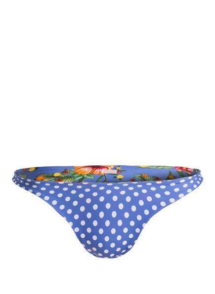 BANANA MOON Bikini-Hose DOLCEVITA PAEA zum Wenden, Farbe: BLAU/ WEISS/ GRÜN (Bild 1)