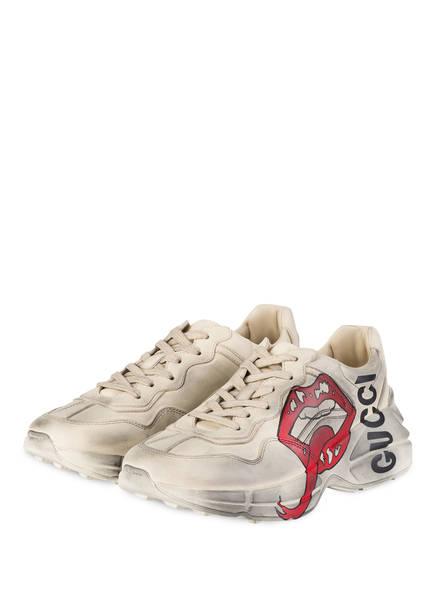 GUCCI Sneaker RHYTON, Farbe:  IVORY (Bild 1)