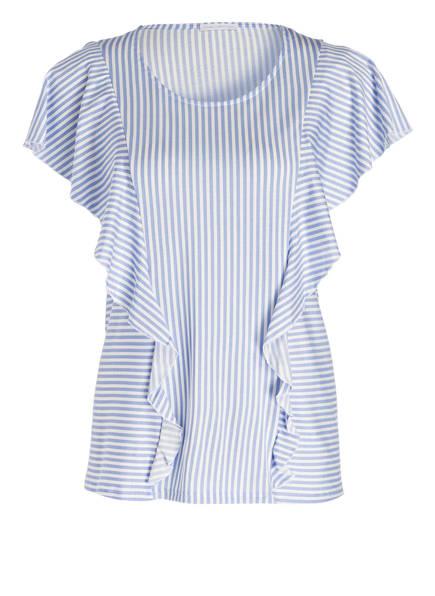 mey Lounge-Shirt NELE, Farbe: BLAU/ WEISS GESTREIFT (Bild 1)