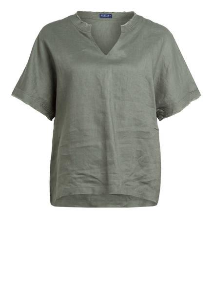 DARLING HARBOUR Leinenshirt, Farbe: KHAKI (Bild 1)