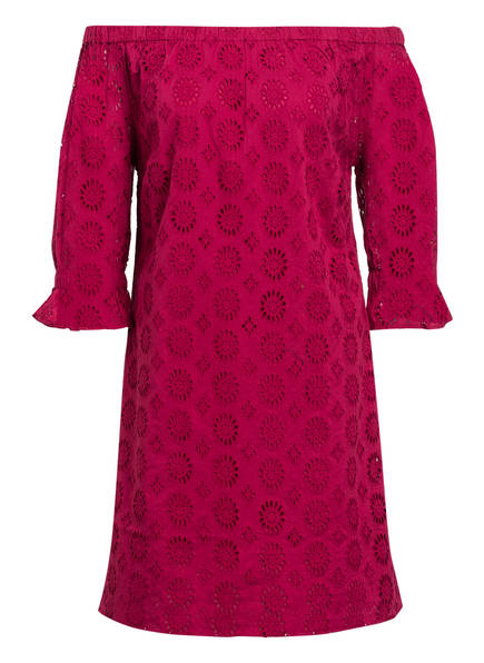 DARLING HARBOUR Off-Shoulder-Kleid, Farbe: FUCHSIA (Bild 1)
