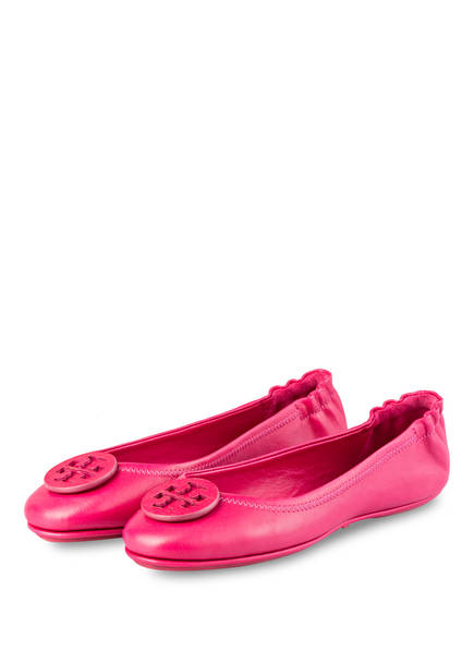 TORY BURCH Ballerinas MINNIE TRAVEL, Farbe: PINK (Bild 1)