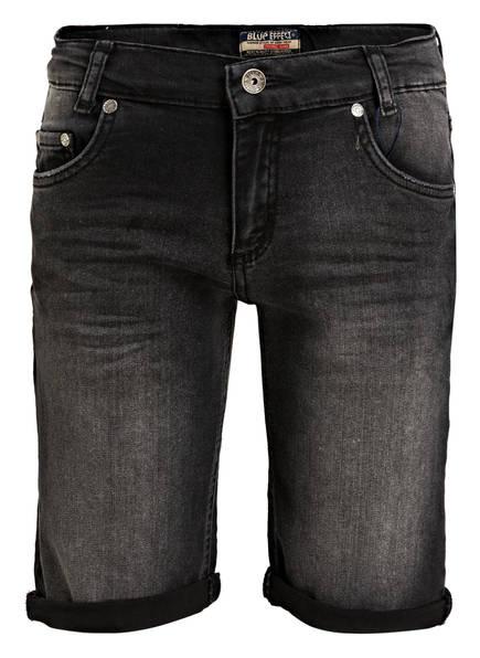 BLUE EFFECT Jeans-Shorts, Farbe: BLACK MEDIUM (Bild 1)