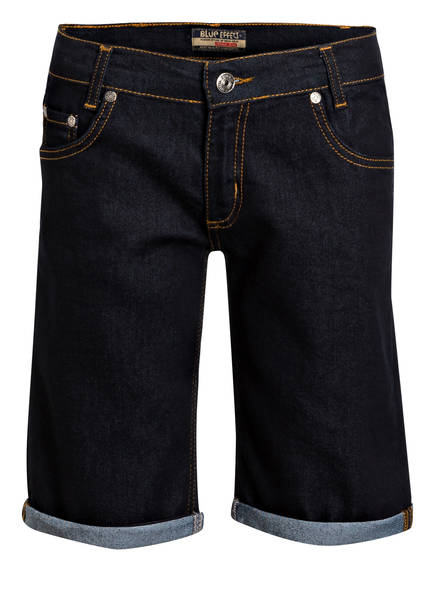 BLUE EFFECT Jeans-Shorts, Farbe: BLUE CLEAN (Bild 1)