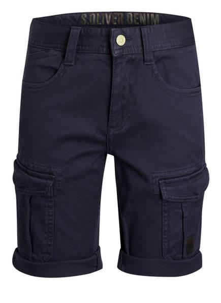 s.Oliver Cargo-Shorts, Farbe: DUNKELBLAU (Bild 1)
