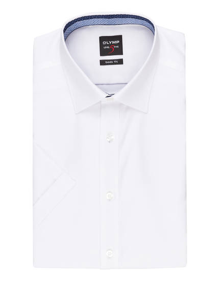 OLYMP Halbarm-Hemd Level Five body fit, Farbe: WEISS (Bild 1)