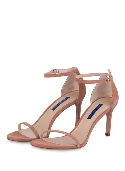 STUART WEITZMAN Sandaletten NUDIST, Farbe: ROSÉ  (Bild 1)
