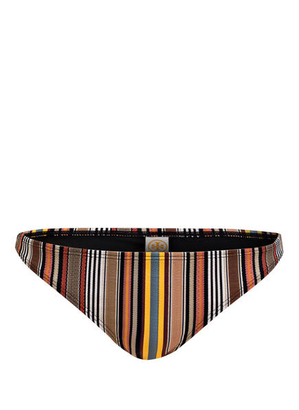 TORY BURCH Bikini-Hose, Farbe: SCHWARZ/ BRAUN (Bild 1)