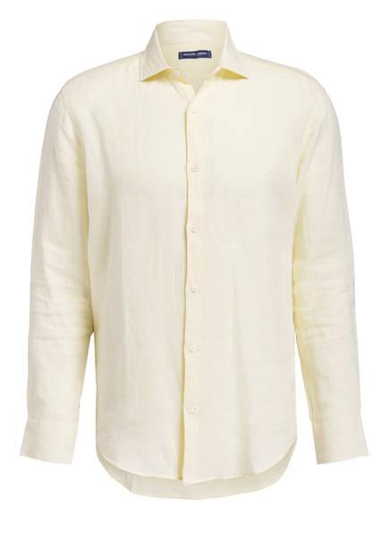 FRESCOBOL CARIOCA Leinenhemd, Farbe: GELB (Bild 1)