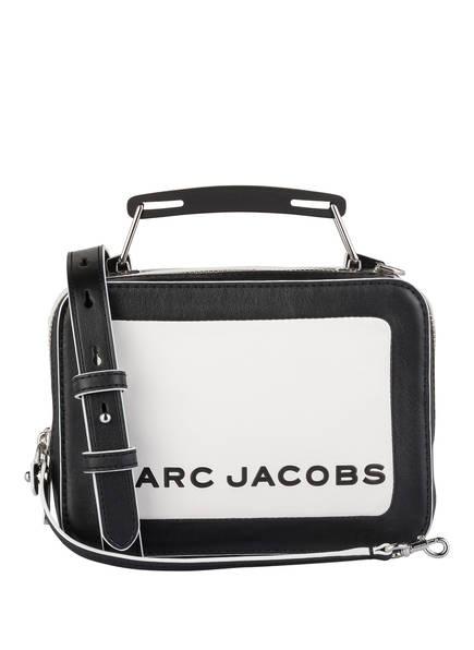 MARC JACOBS Handtasche THE BOX 20, Farbe: WEISS/ SCHWARZ (Bild 1)