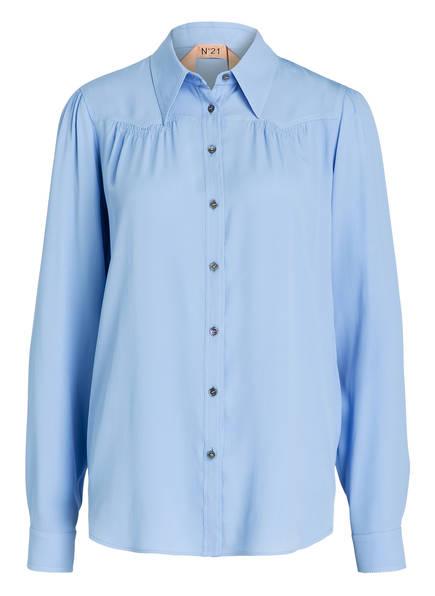 N°21 Bluse , Farbe: HELLBLAU (Bild 1)