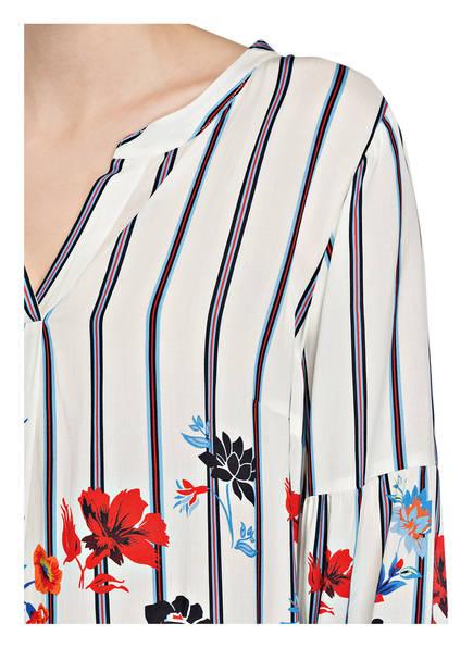 Bluse  von Betty Barclay   ECRU/ BLAU/ ROT