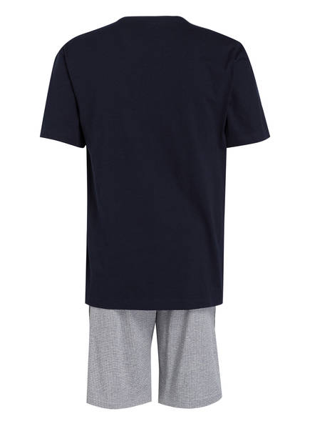 Shorty Strokesman's schlafanzug Dunkelblau Strokesman's Shorty Hq7EU7Xw