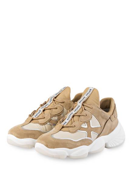 BRONX Plateau-Sneaker FRANKY-JAMES, Farbe: BEIGE (Bild 1)
