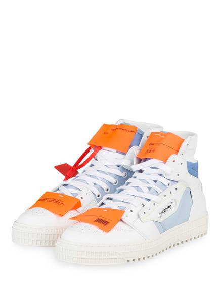 OFF-WHITE Hightop-Sneaker OFF-COURT 3.0, Farbe: WEISS/ HELLBLAU (Bild 1)