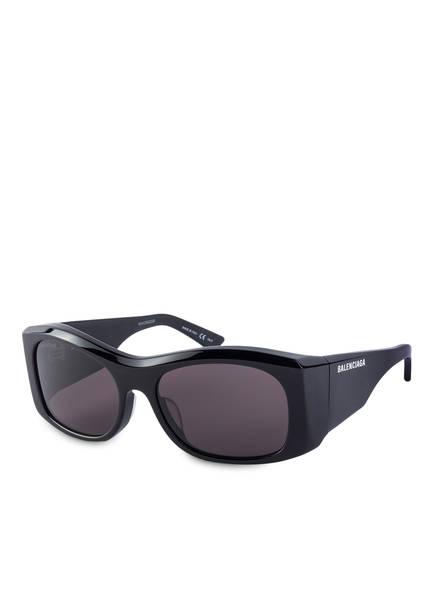 BALENCIAGA Sonnenbrille BB0001S, Farbe: 004 - SCHWARZ/ SCHWARZ (Bild 1)