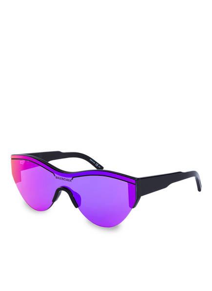 BALENCIAGA Sonnenbrille BB0004S, Farbe: 002 - SCHWARZ/ LILA (Bild 1)