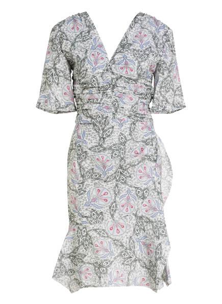 ISABEL MARANT Kleid ARODIE , Farbe: ECRU/ HELLBLAU (Bild 1)