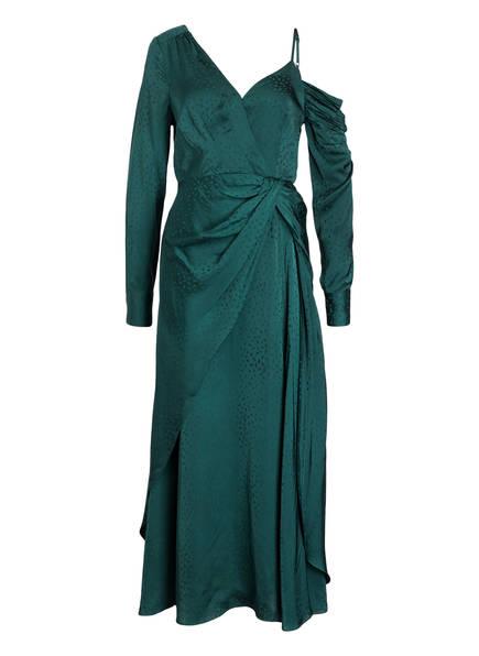self-portrait One-Shoulder-Kleid, Farbe: GRÜN (Bild 1)
