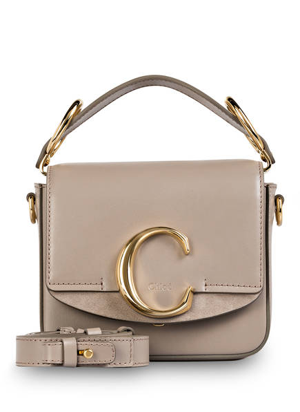 Chloé Handtasche C MINI , Farbe: MOTTY GREY (Bild 1)