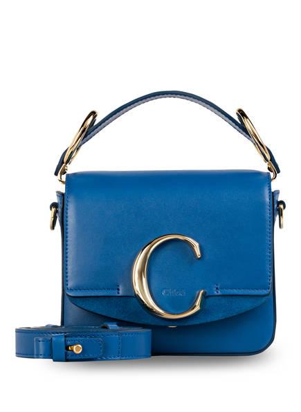 Chloé Umhängetasche C MINI , Farbe: SMOKY BLUE (Bild 1)