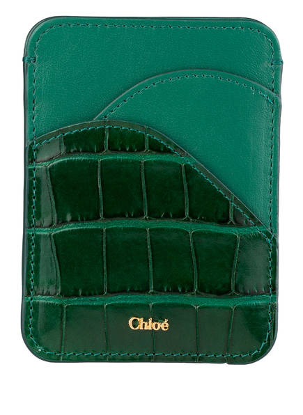 Chloé Kartenetui , Farbe: WOODSY GREEN (Bild 1)