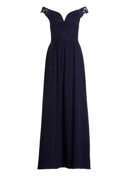 Young Couture by BARBARA SCHWARZER Abendkleid , Farbe: NAVY (Bild 1)