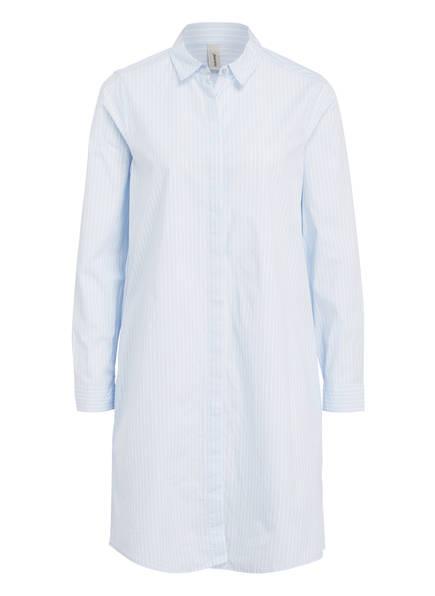 soyaconcept Hemdblusenkleid , Farbe: HELLBLAU/ WEISS GESTREIFT (Bild 1)