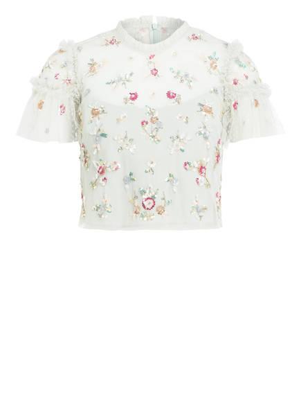 needle & thread Bluse SHIMMER DITSY, Farbe: HELLGRÜN (Bild 1)