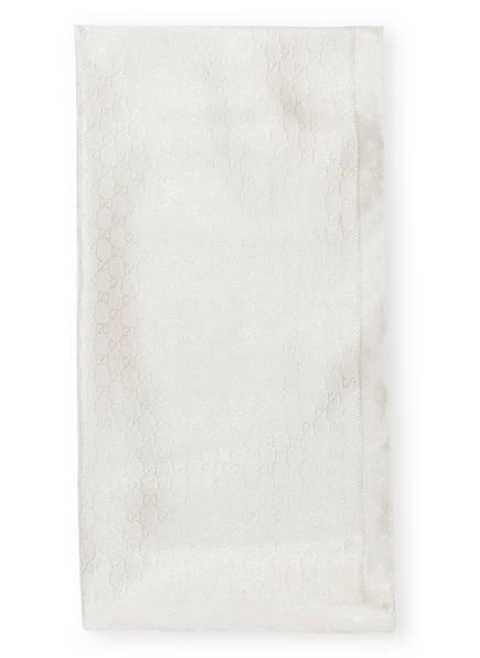 GUCCI Schal mit Seidenanteil, Farbe: PEARL (Bild 1)