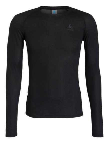 odlo Funktionswäsche-Shirt  ACTIVE F-DRY LIGHT, Farbe: SCHWARZ (Bild 1)