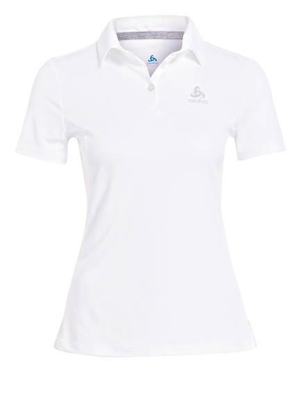 odlo Poloshirt F-DRY, Farbe: WEISS (Bild 1)